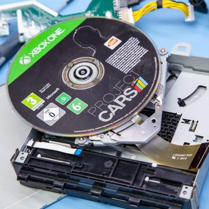 Xbox disc drive not working Birmingham Tech Guy